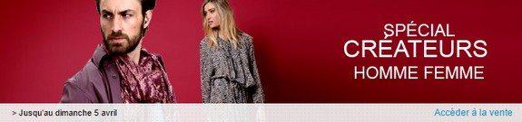 vente privee mode homme femme createurs