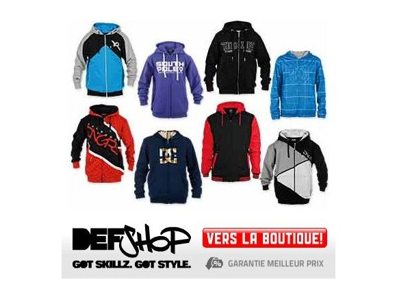Def Shop : 10% sur les blousons hiver de la marque DNGRS