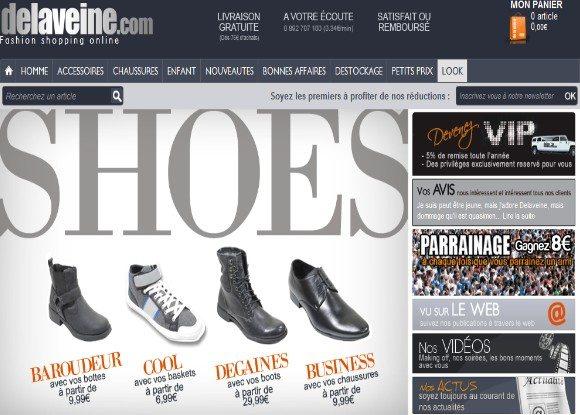 DELAVEINE : Code de réduction de 5% sur toute la boutique