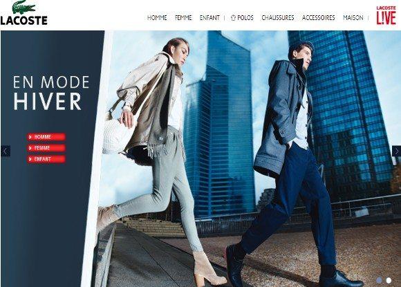 Code Promo Lacoste pour la livraison gratuite !