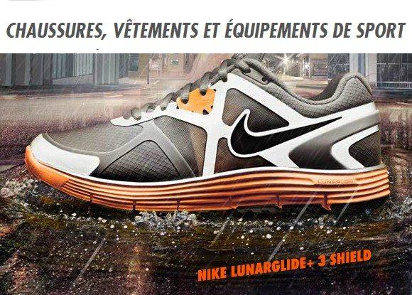Nike Store : – 20% de réduction sur tous les produits déstockages