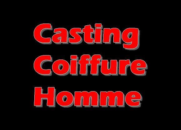Casting Coupe de Cheveux Pour Hommes