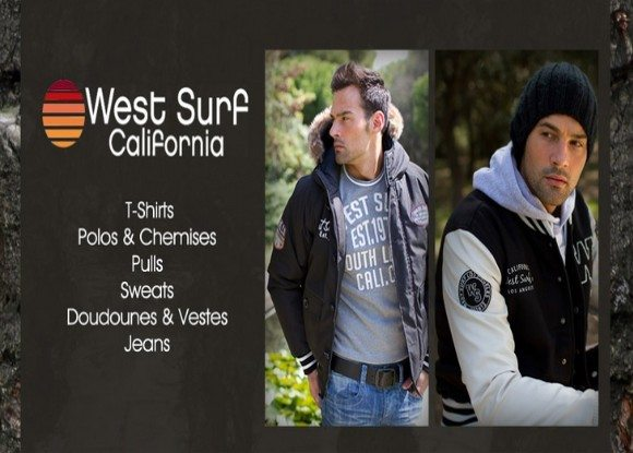 West Surf California chez Showroom Privé !