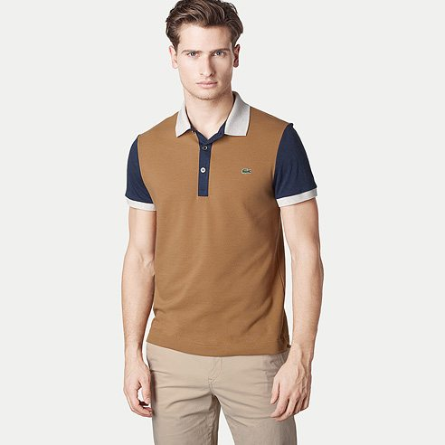 Polo Lacoste Slim Contrasté pour homme - Monsieur Mode