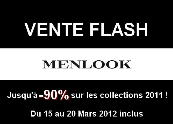 Vente flash menlook jusqu 90 mode pour homme blog monsieur mode - Vente flash c discount ...