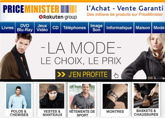 Codes Promos Priceminister 2012