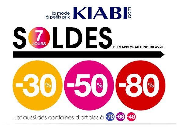Soldes Kiabi