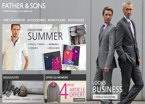 Code Promo Father & Sons