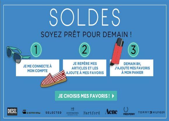 Soldes Menlook Été 2012 !