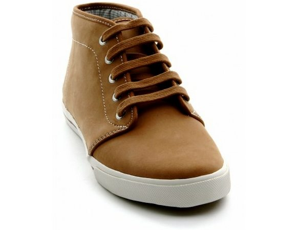 Chaussures Fred Perry Marron Clair Camel Fletcher
