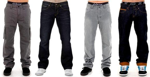 Jeans et pantalons Oxbow