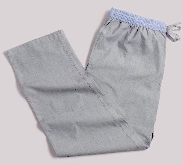 Pantalon de pyjama gris clair