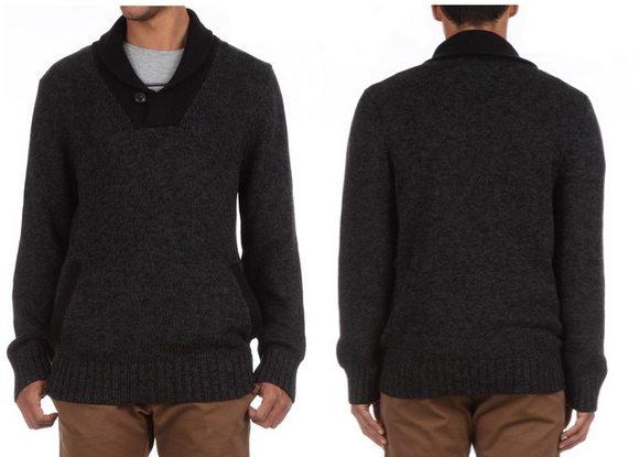 Pull homme Levis coton et laine