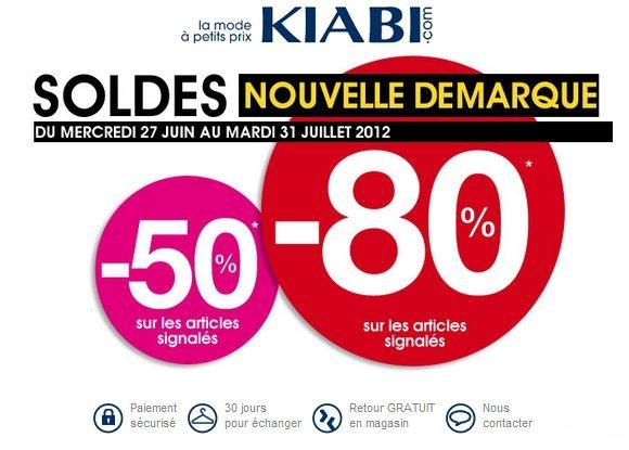 Soldes Kiabi Été 2012