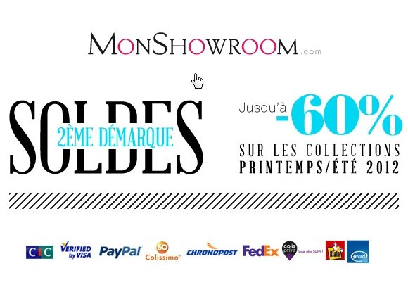 Soldes Monshowroom Ete 2012
