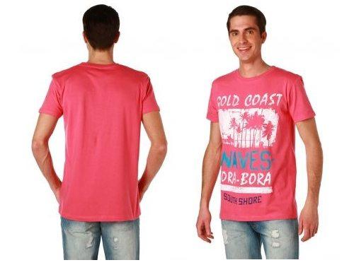 T-shirt imprimé à col rond