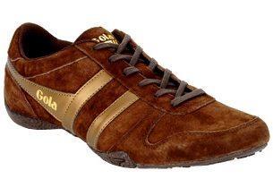 Chaussures Streetwear Gola Chase Marron Bronze