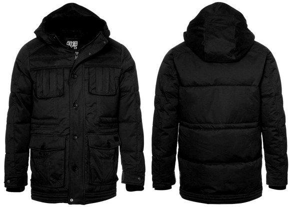 Parka Noire homme Jack & Jones - Manteau hiver