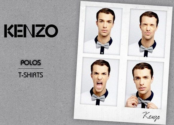 Vente Privée de Tee Shirts et Polos Kenzo homme