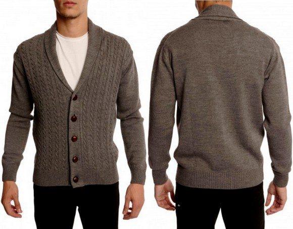 Cardigan en laine pour homme Menlook Label
