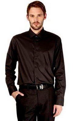 Chemise noire Calvin Klein