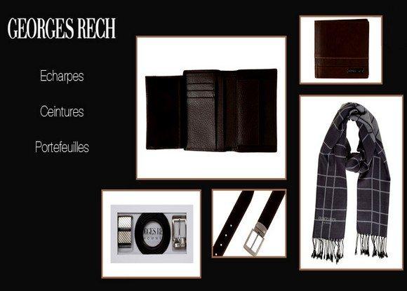 Vente privée d'accessoires Georges Rech