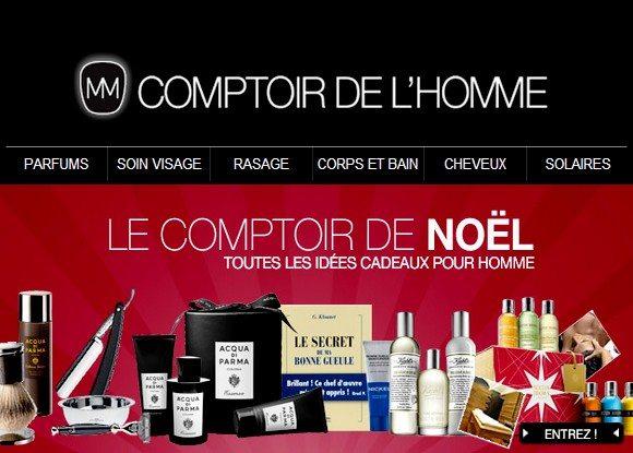 Code Promo Comptoir de l'Homme Novembre 2012