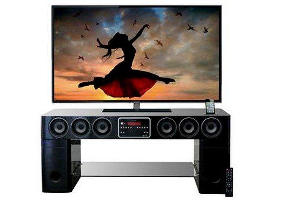 Meuble Home Cinéma en bois HDW Sound Vision 210 watts
