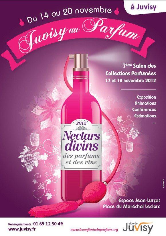Salon du parfum et du vin 2012 à Juvisy !