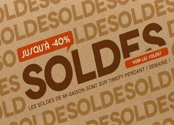 Soldes Timefy Boutique de Montres pour hommes