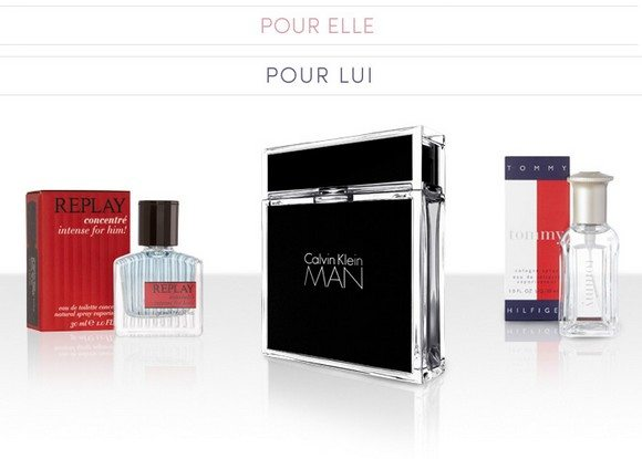 Vente Privée de Parfums de marque