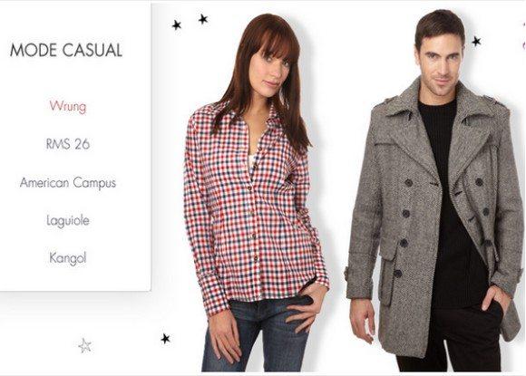 Vente Privée Mode Casual pour hommes et femmes
