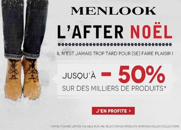 Promos Menlook ! Jusqu'à -50% sur des milliers de produits !!