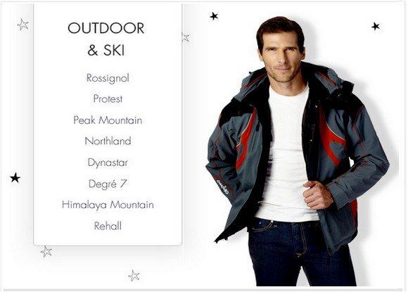 Vente Privée Outdoor et Ski