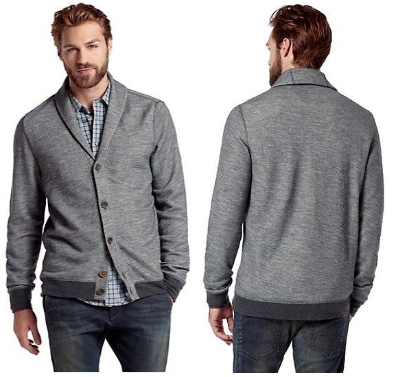 Cardigan homme Hugo Boss