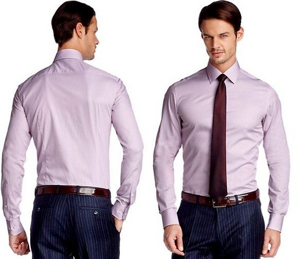 Chemise homme business Hugo Boss Selection