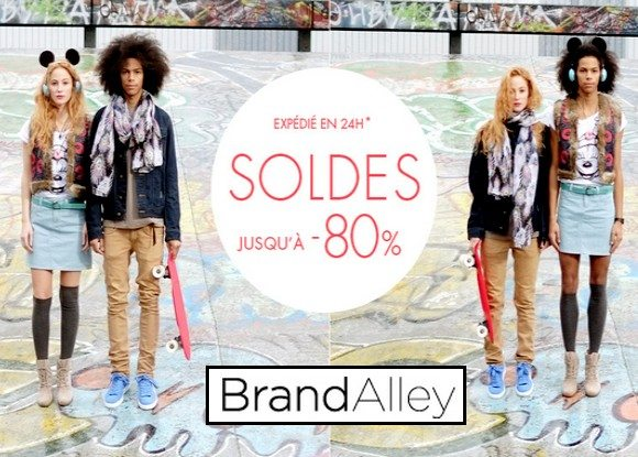 Soldes Hiver 2013 chez BrandAlley