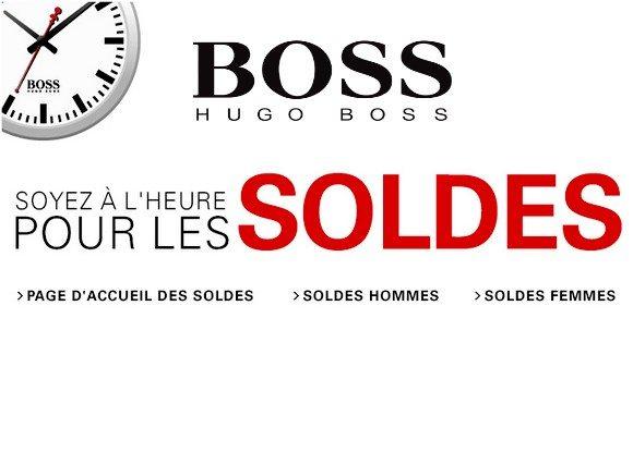 Soldes Hugo Boss Hiver 2013