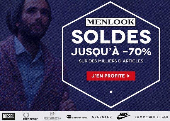 Soldes Menlook Hiver 2013