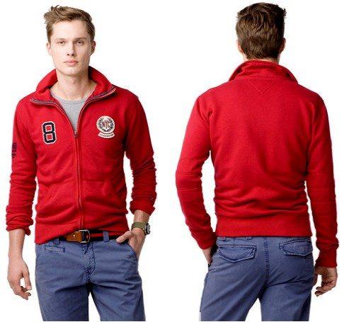 Sweat Shirt Rouge Tommy Hilfiger
