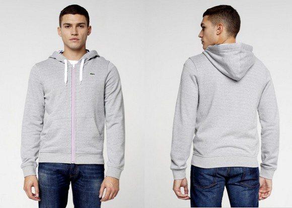 Sweatshirt capuche Lacoste Live