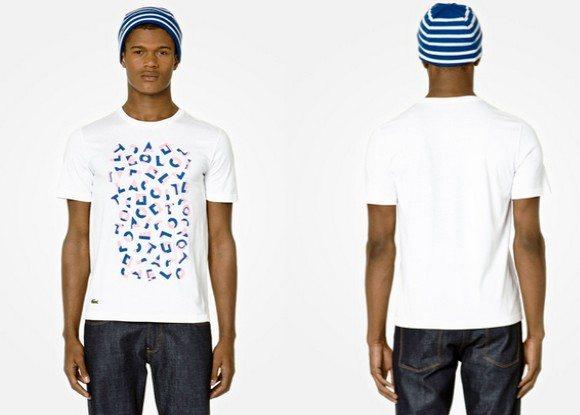 T-shirt Lacoste Live