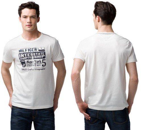 T-shirt blanc Tommy Hilfiger