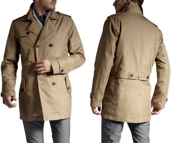 Trench Coat Court beige