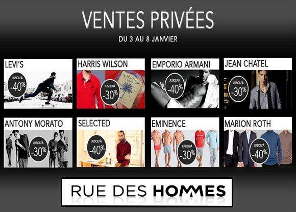 Vente Privée Rue Des Hommes