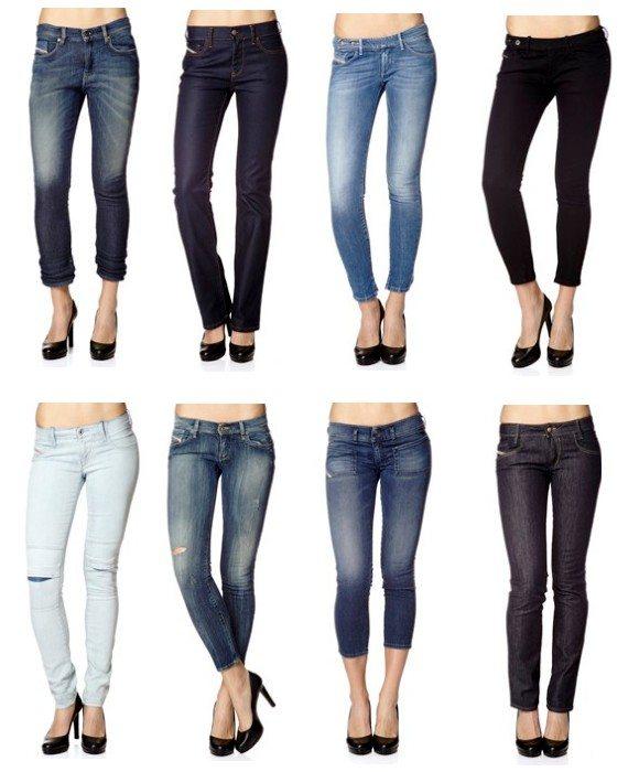 Jeans Diesel Femme