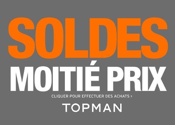 Soldes Topman Mars 2013