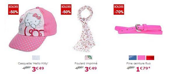 Accessoires de mode fille pas cher