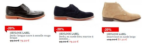 Chaussures Menlook Label