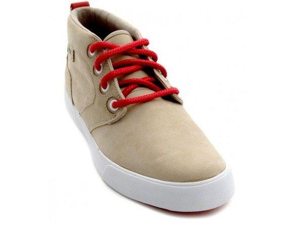 Chaussures montantes Lacoste Storm marron beige